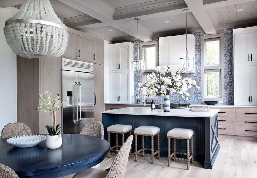 Pantone colour of the year Classic Blue Minto Communities Minto dream home kitchen