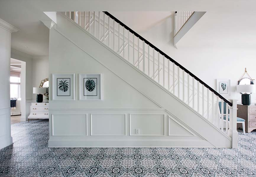Pantone colour of the year Classic Blue Minto Communities Minto dream home staircase