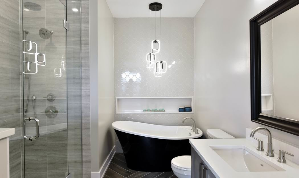 Models at Pathways at Findlay Creek Phoenix Melbourne ensuite bathroom Ottawa new homes
