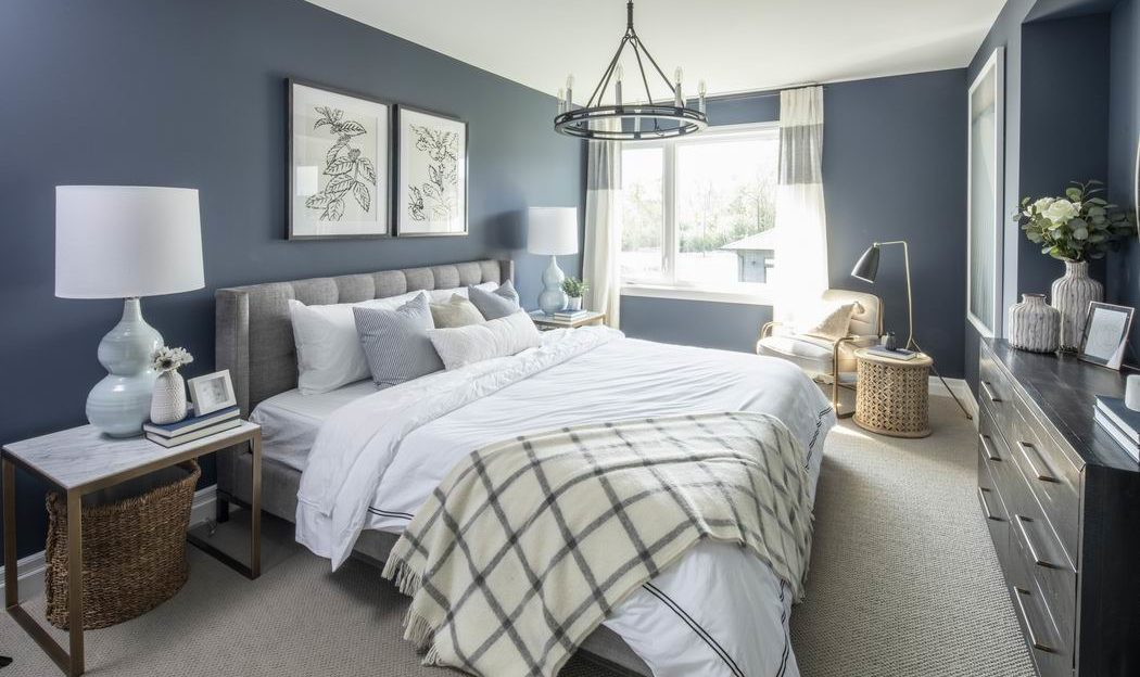 Models at Pathways at Findlay Creek Richcraft Fairhaven bedroom Ottawa new homes