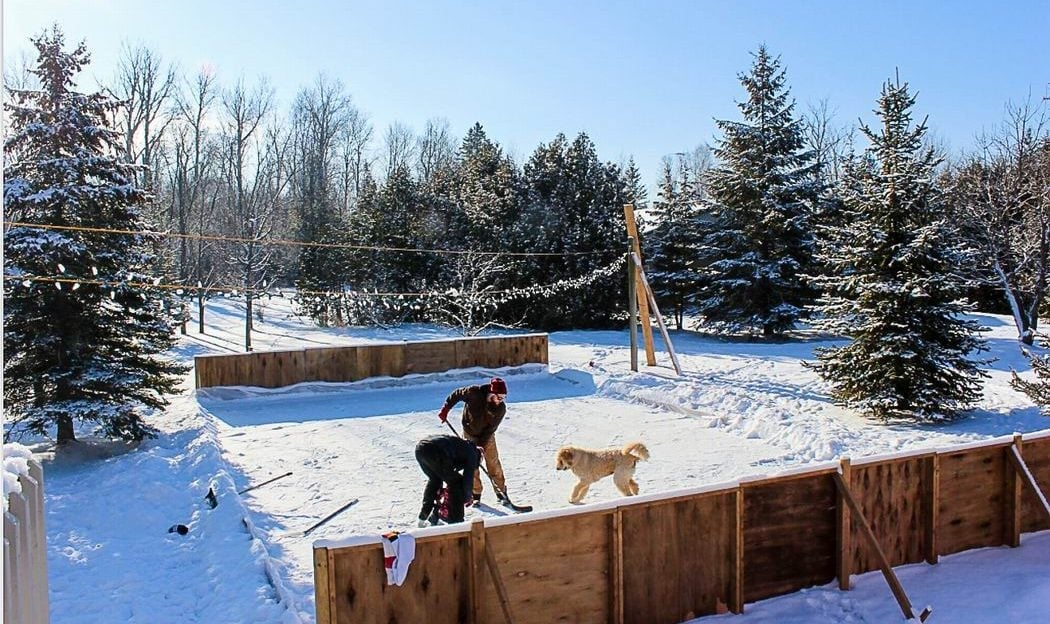 How to build an epic backyard hockey rink — allthingshome.ca