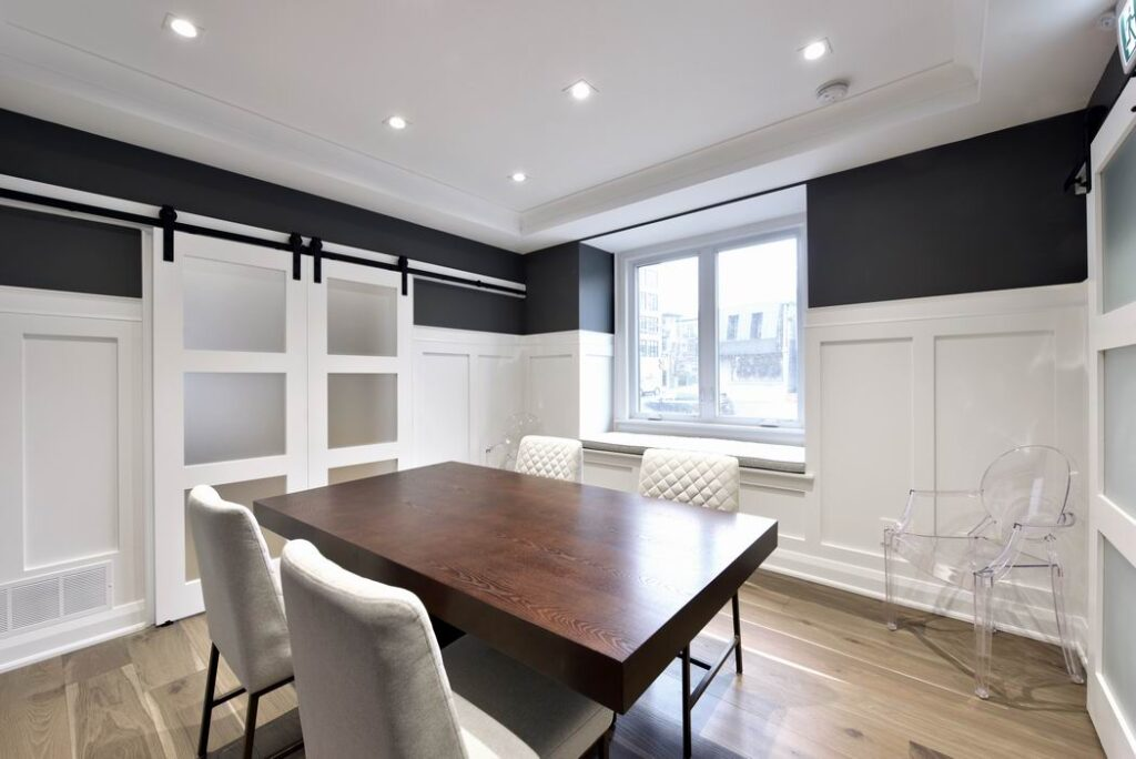 Amsted Design-Build Glebe renovation Reno Tour 2019 dining room