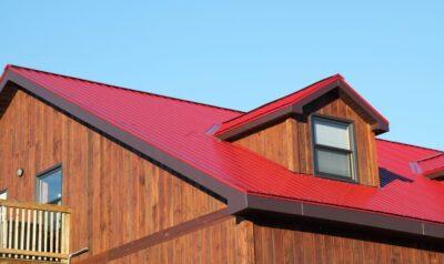 REN new roof Steve Maxwell metal roofing