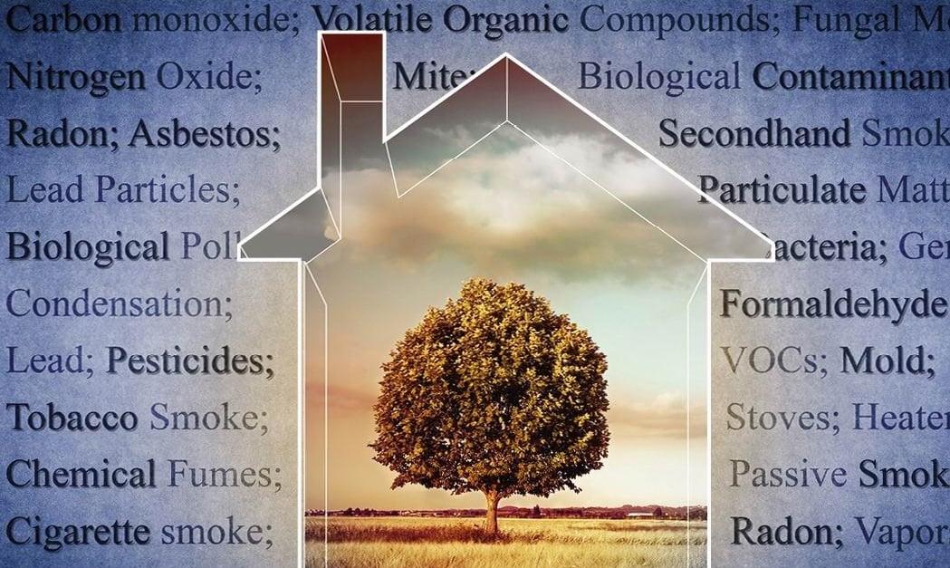 indoor air pollution Ottawa homes radon VOCs