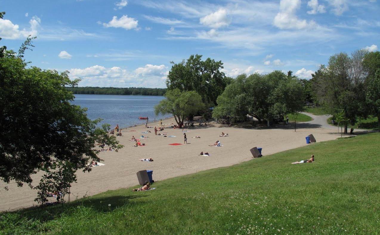Westboro Beach Ottawa