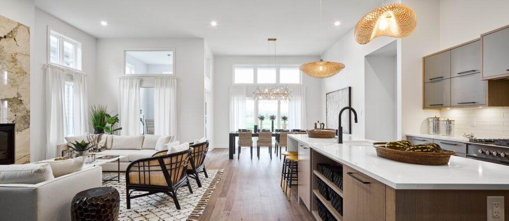 designing a model home