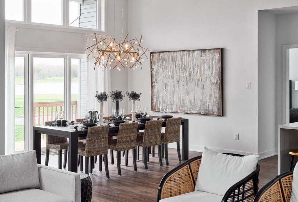 dining room transom windows eQ Homes