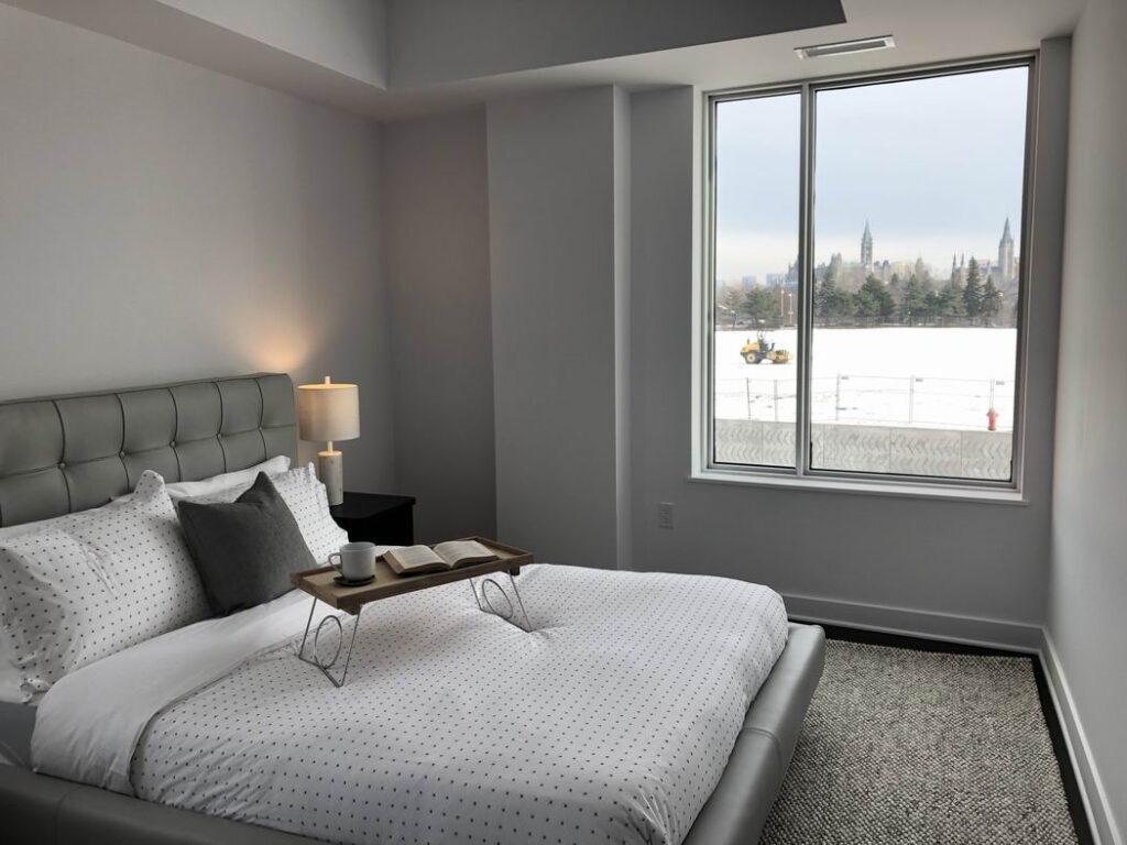 Zibi Ottawa condos Gatineau model suite