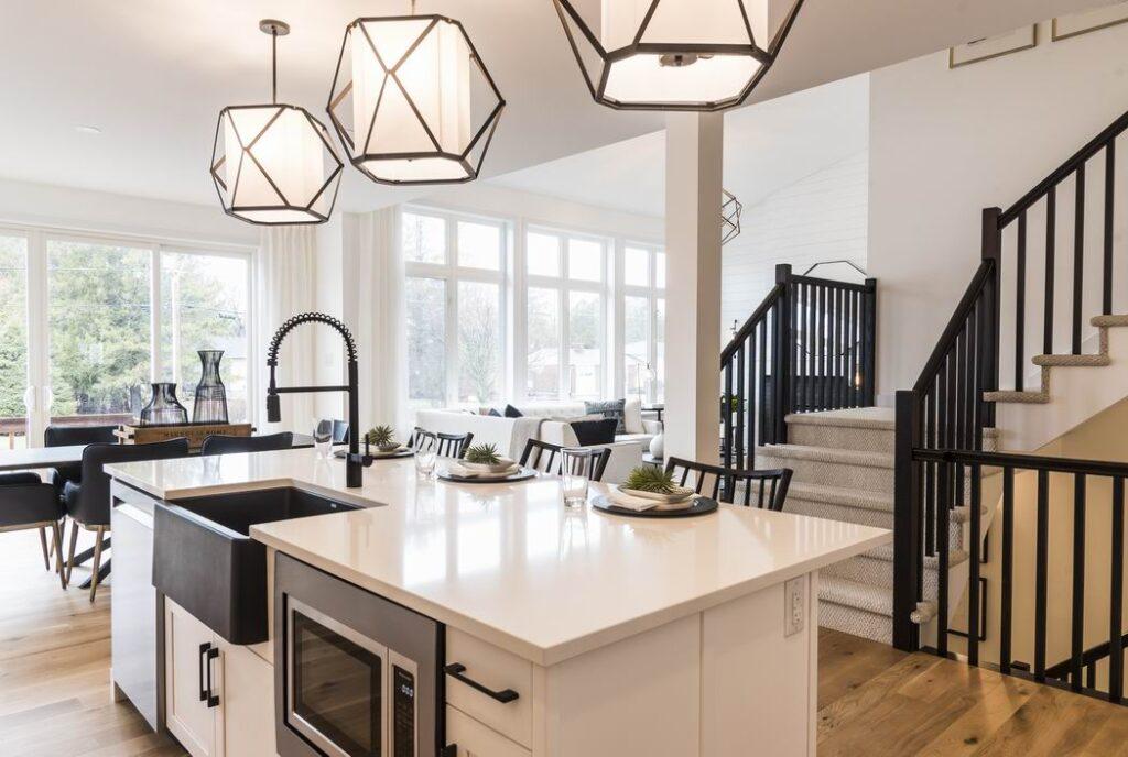 apron sink farmhouse style Ottawa kitchens Cardel Homes