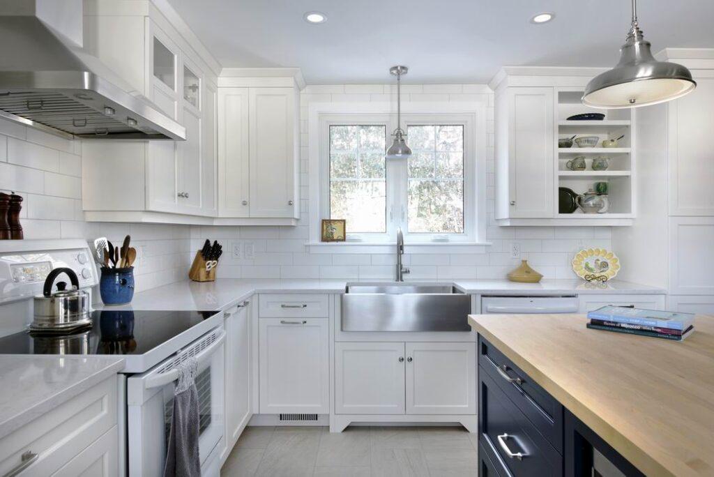apron sink farmhouse style Ottawa kitchens Amsted Design-Build