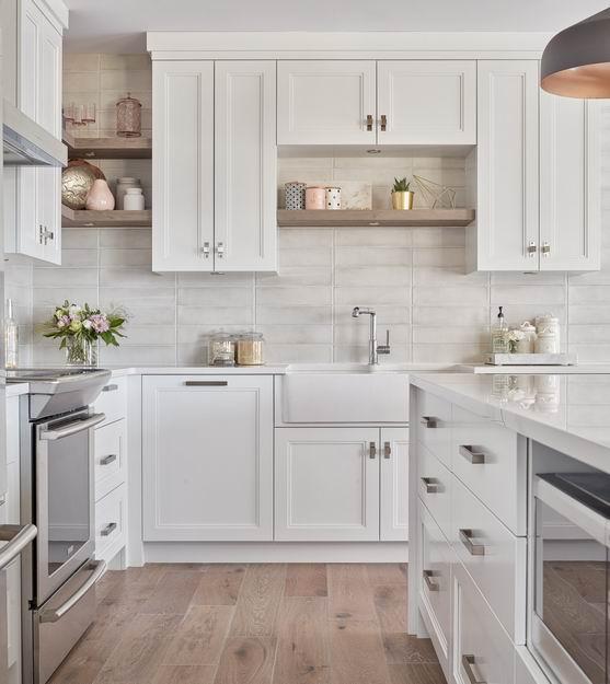 apron sink farmhouse style Ottawa kitchens Astro Design Centre