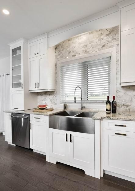 apron sink farmhouse style Ottawa kitchens Laurysen Kitchens