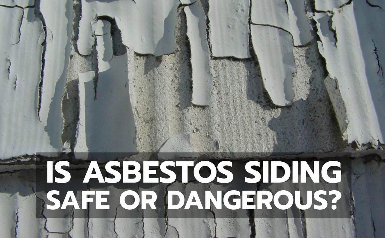 asbestos siding Steve Maxwell peeling paint