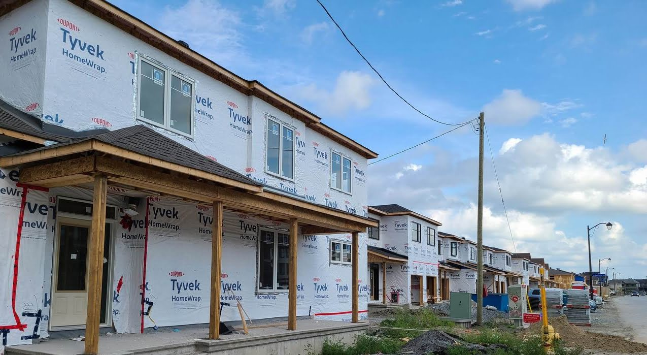 August 2021 new-home sales Ottawa construction