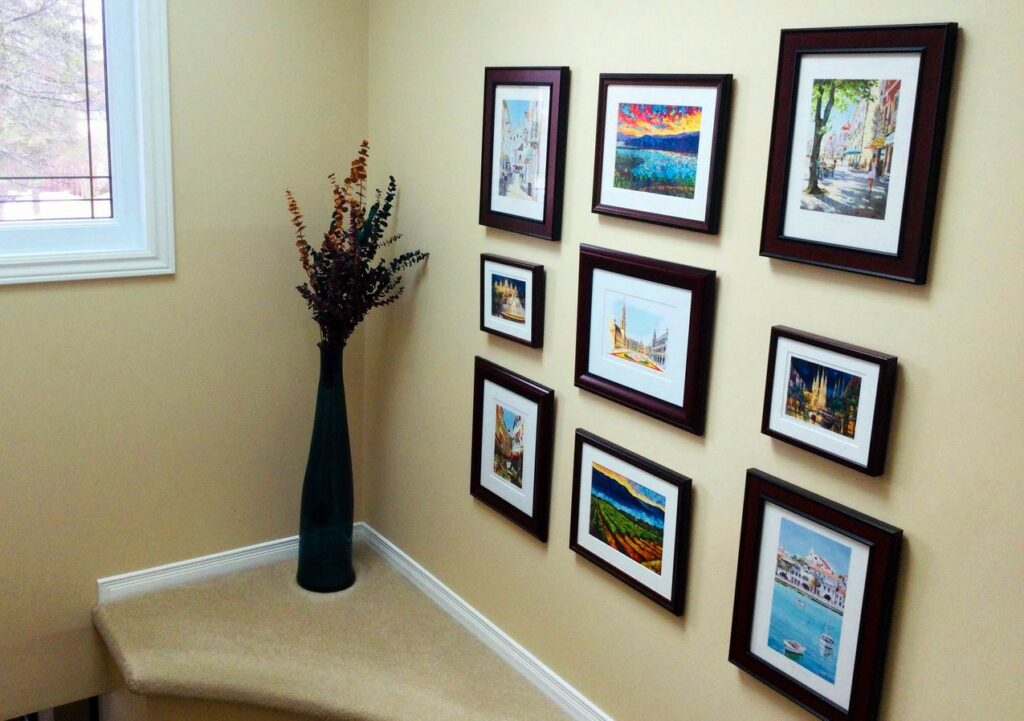 gallery wall step-by-step