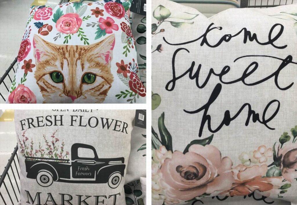 budget-friendly finds pillows