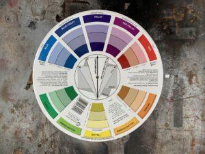 choosing paint colours colour wheel Steve Maxwell