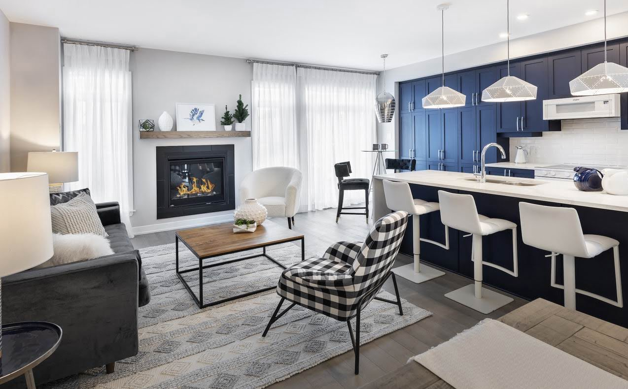 Watter's Pointe townhomes