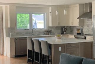 Amsted Design-Build Ottawa kitchens marble backsplash