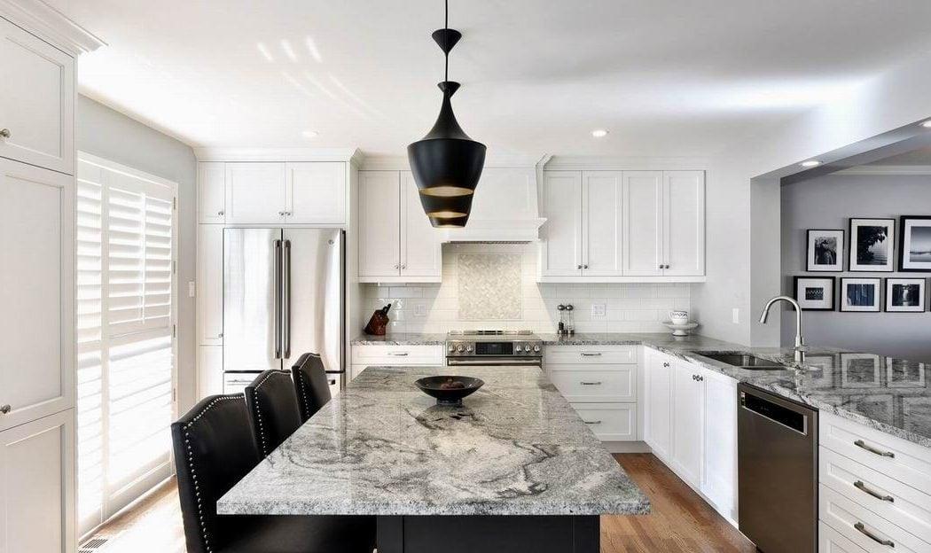 kitchen countertops Amsted Design-Build Ottawa kitchens polished granite