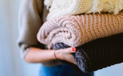 folded clothes donating decluttering Ottawa charities