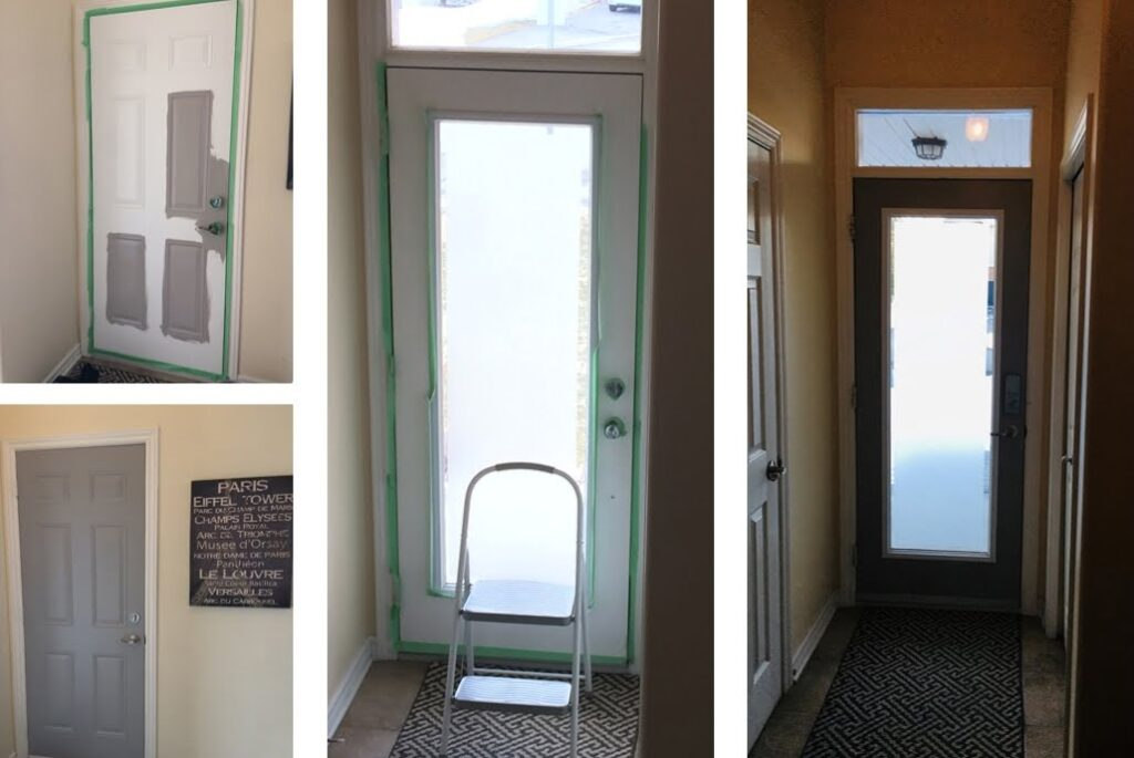 pandemic projects Sue Pitchforth painting doors