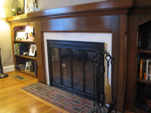 fireplace makeover Sue Pitchforth Design Therapy Plus