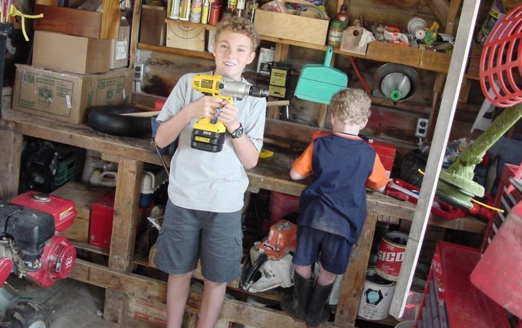 garage workshop steve maxwell home improvement kids and tools