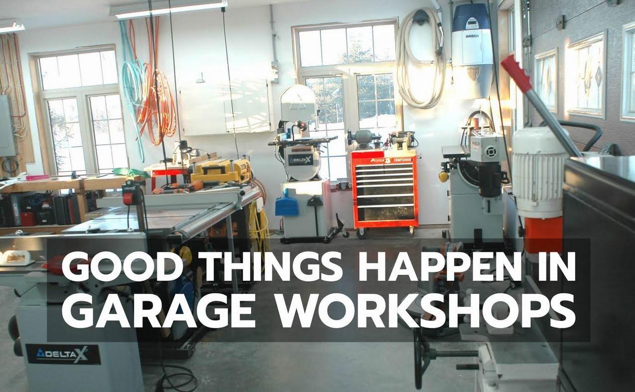garage workshop steve maxwell home improvement