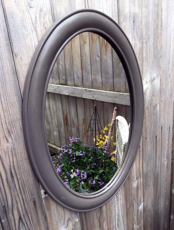 garden decor mirrors Sue Pitchforth Decor Therapy Plus