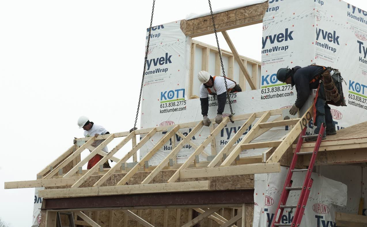 lumber supply issues Ottawa new homes construction GOHBA