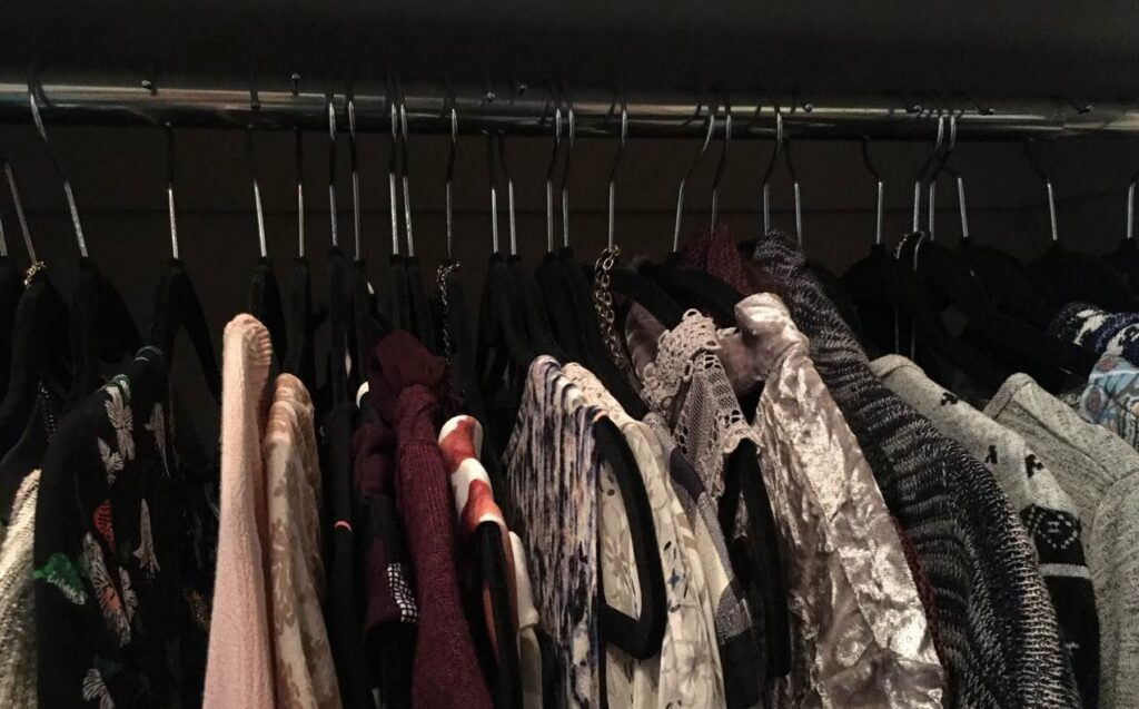 pandemic projects Sue Pitchforth closet organizing