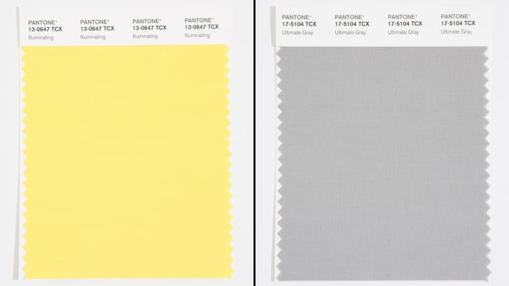 pandemic projects Sue Pitchforth Pantone colours 2021