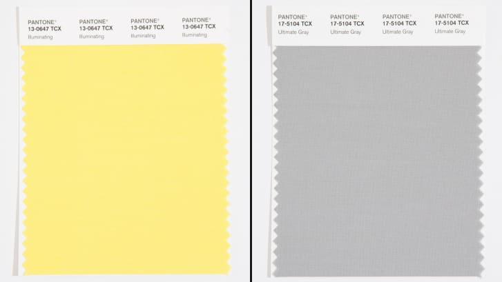 pandemic projects Sue Pitchforth Pantone colours 2021