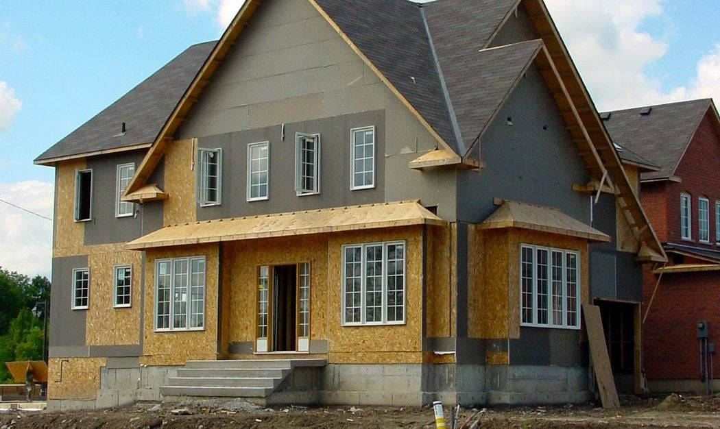 home design innovations custom home under construction Steve Maxwell
