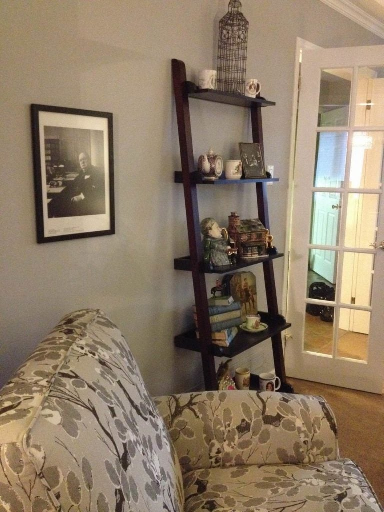 decorate with intention sue pitchforth decor therapy plus ladder shelf