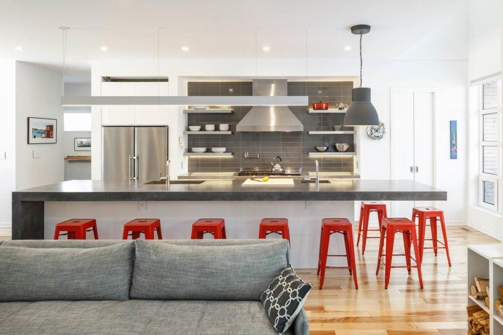 kitchen islands Ottawa kitchens Linebox Studio