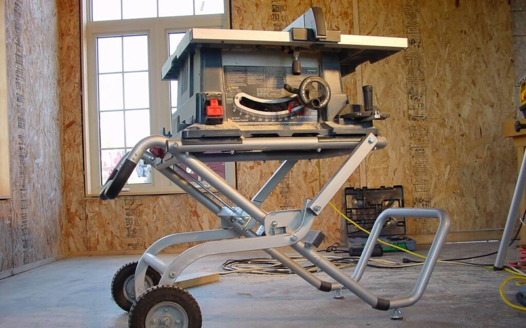 Steve Maxwell mitre saw or table saw home improvement