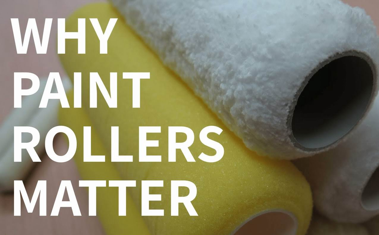 paint rollers Steve Maxwell home improvement painting tips