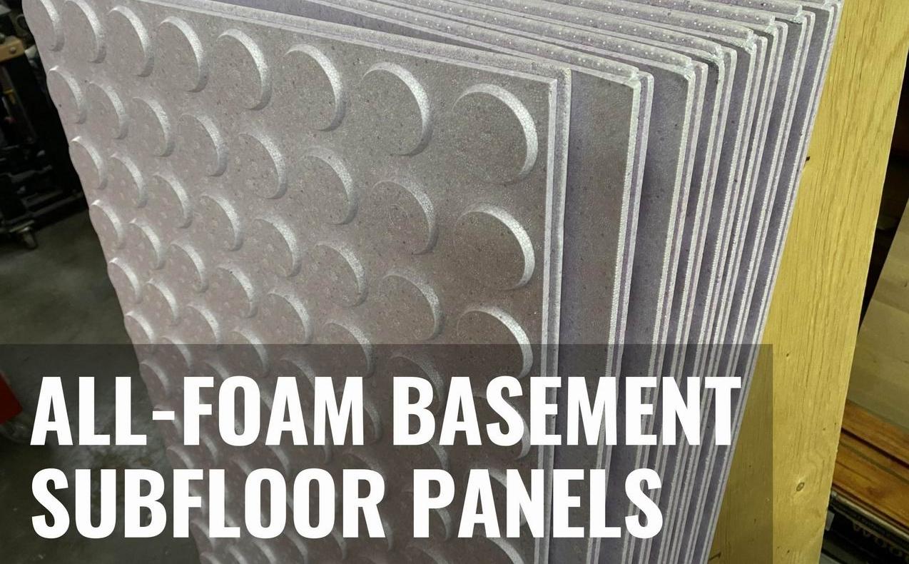 basement subfloor panels