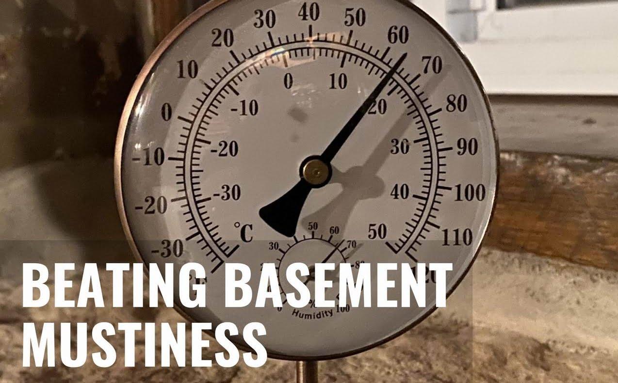 musty basement