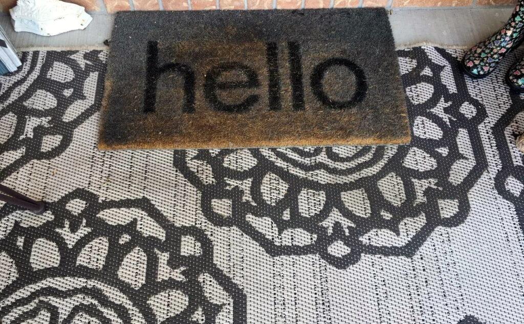 Sue Pitchforth door mats