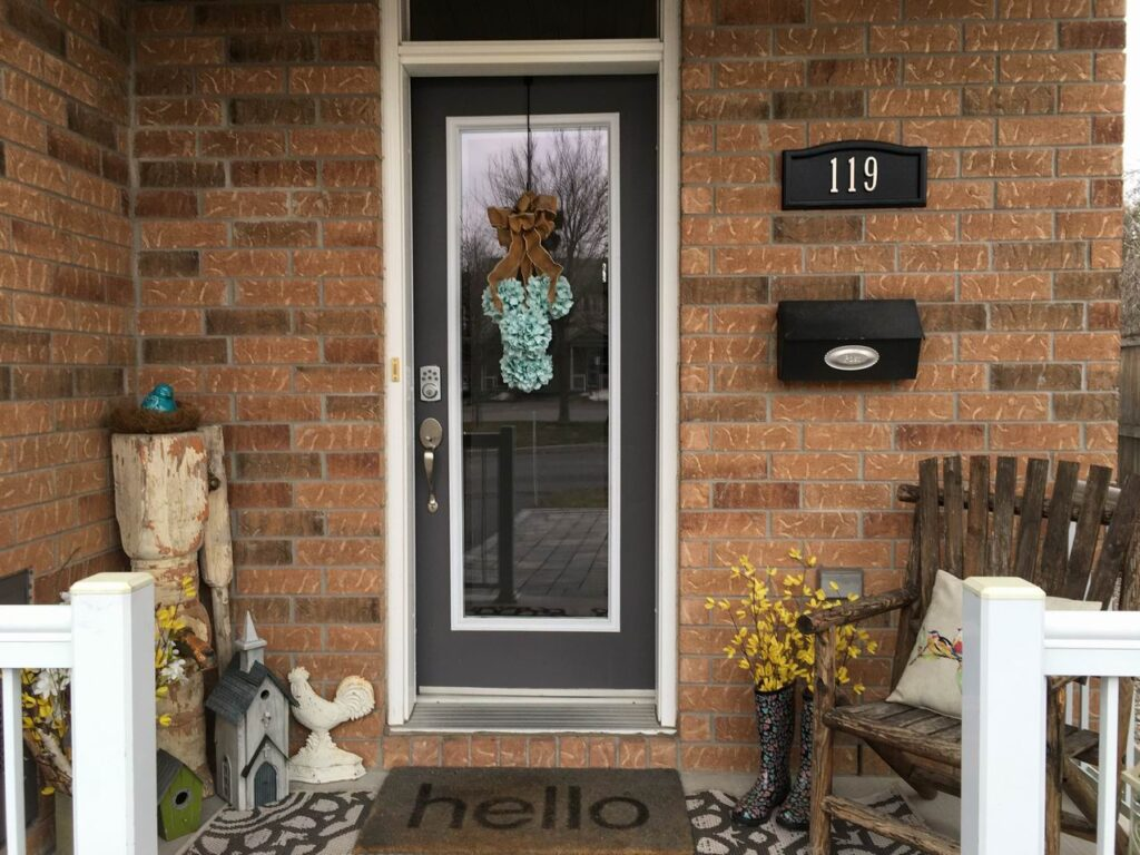 decorating your porch Sue Pitchforth