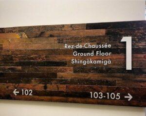 Zibi condos Ottawa Gatineau reclaimed wood