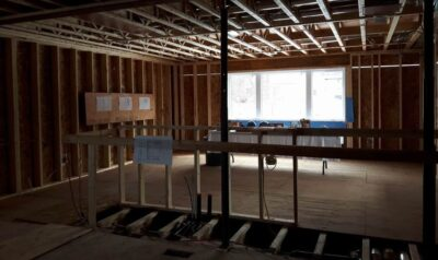 prepare for a renovation construction framing Amsted Design-Build