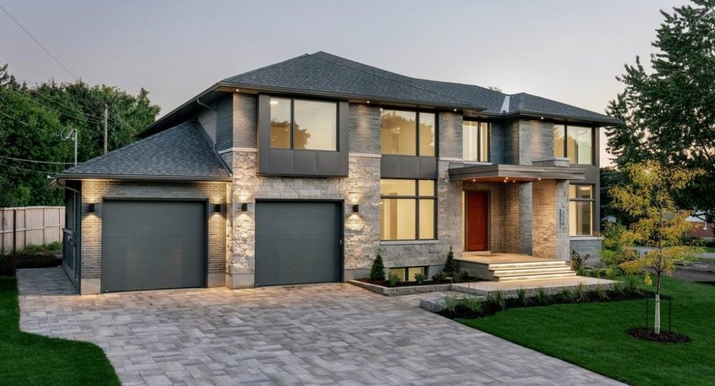 2019 Housing Design Awards Ottawa design awards RND Construction Christopher Simmonds Architect green custom home of the year green building energy-efficient building Ottawa new homes