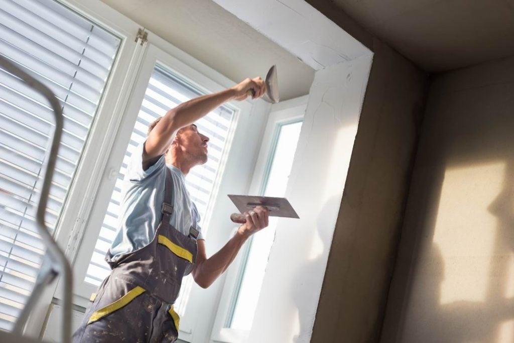 Steve Maxwell home improvement construction plaster repair ceiling