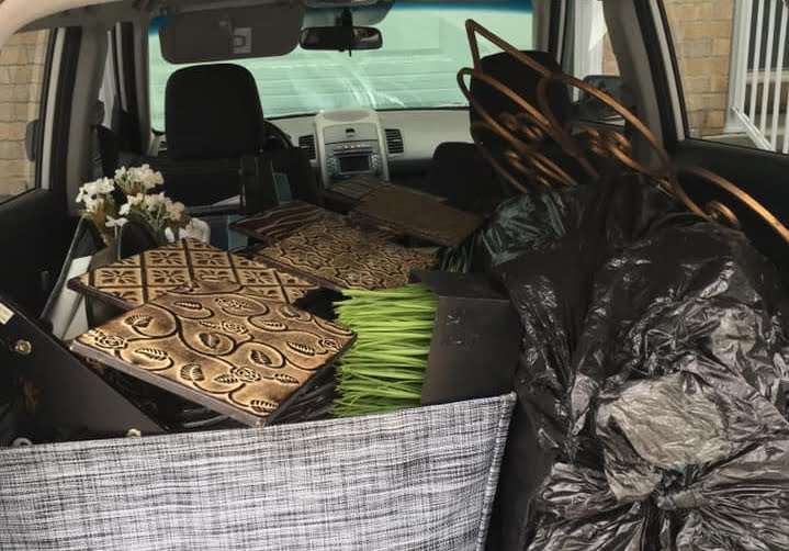 carload of accessories Sue Pitchforth selling your home