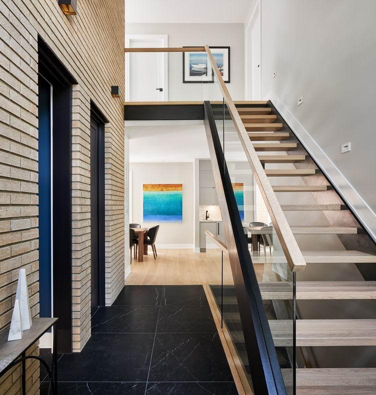 Ottawa staircases Rosaline J Hill Architect Vogt Design Haslett Construction