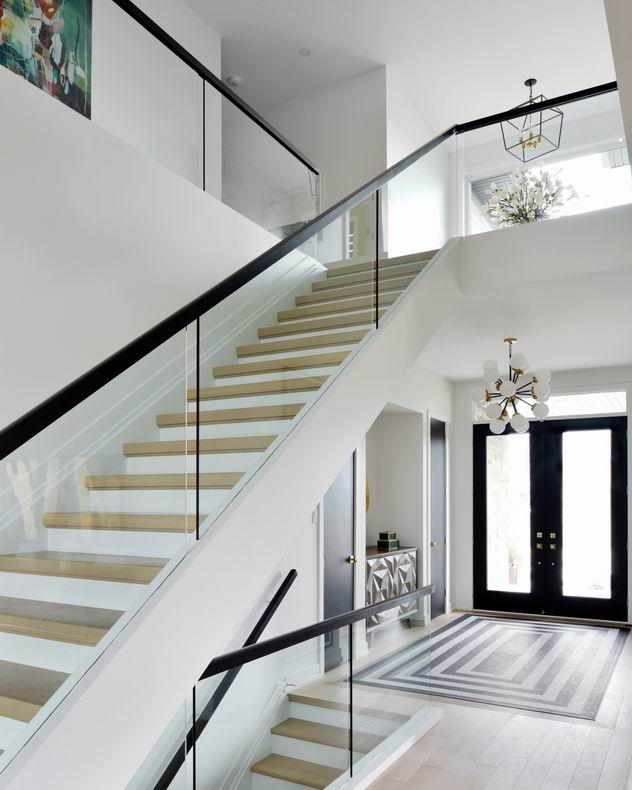 Ottawa staircases Minto Communities Tanya Collins Design